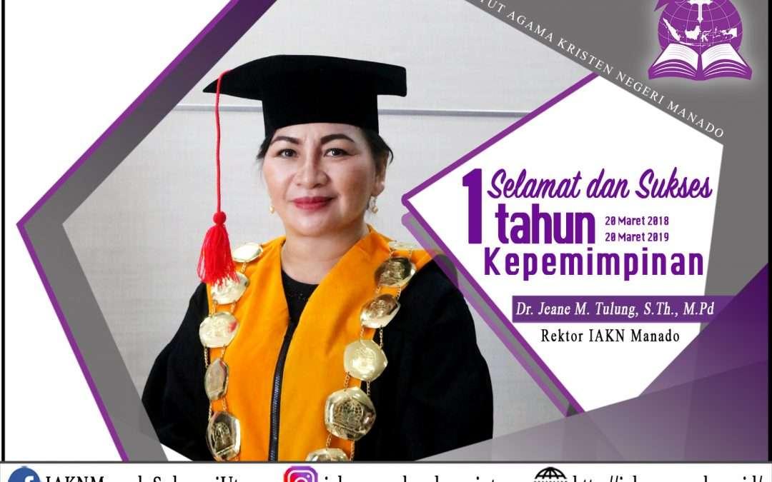 1 Tahun Kepemimpinan Rektor Pertama