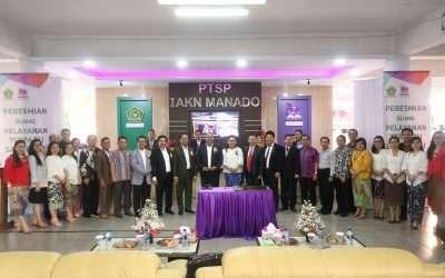 PTSP Pertama PTKKN se Indonesia