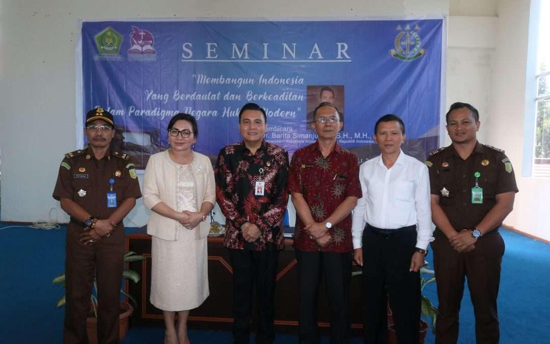 Komisi Kejaksaan RI Pilih IAKN Manado