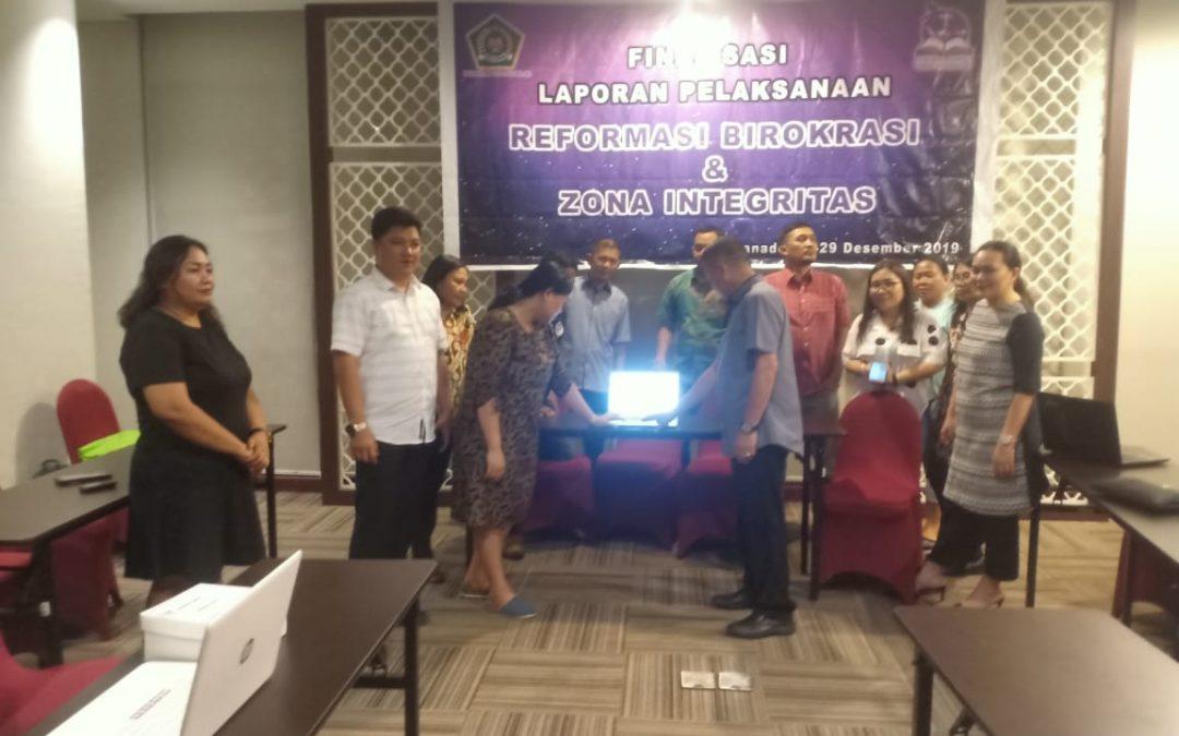 Submit PMPRB dan PMPZI Tahun 2019 oleh Rektor IAKN Manado
