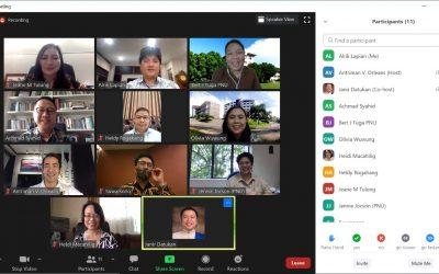Rapat Bersama President PNU dan Jajaran, membahas Program Kerjasama dengan IAKN Manado