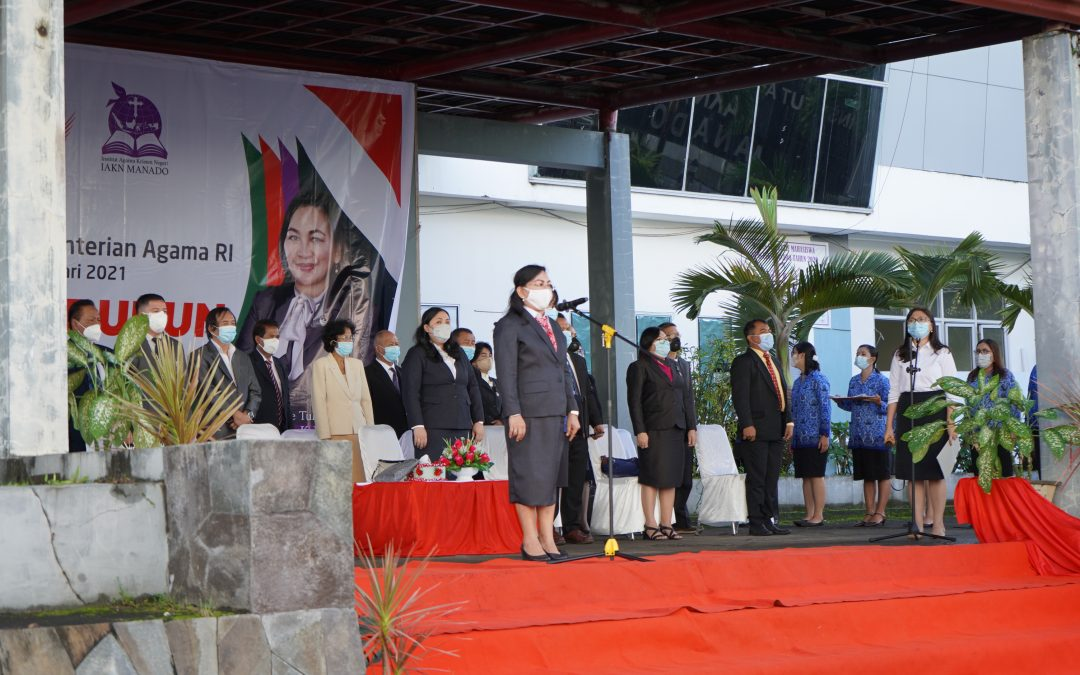 "IAKN Manado Gelar Hari Amal Bakti ke 75 ""Indonesia Rukun"""